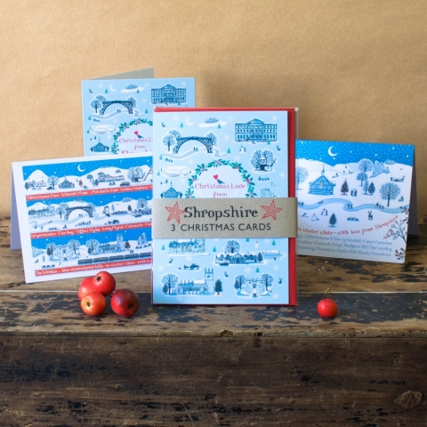 Shropshire Christmas Cards