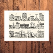 Church Stretton Art Print