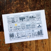Shrewsbury Art Print