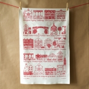 Shropshire Towns Tea Towel